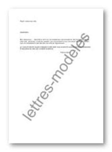 Modèle De Lettre Pour Remise De Clés