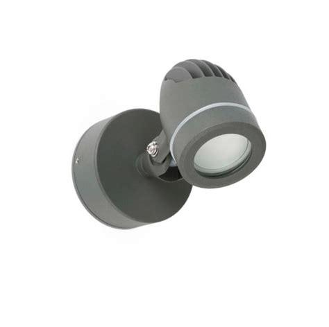 spot ext 233 rieur led faro gera fonte d aluminium 70138 projecteurs ext 233 rieurs led chez