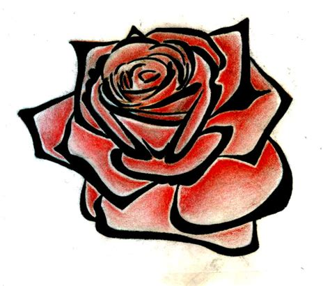 rose tribal clipart best clipart best