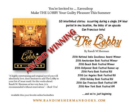 the lobby books 9 awards and counting the lobby is a must read this