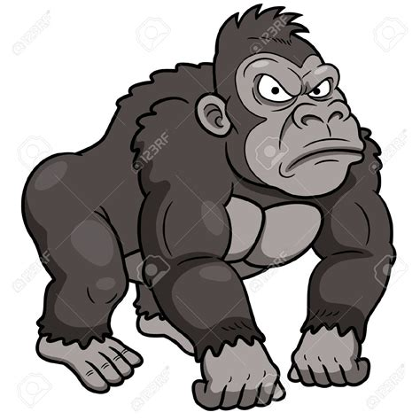 gorilla clipart silverback clipart clipground