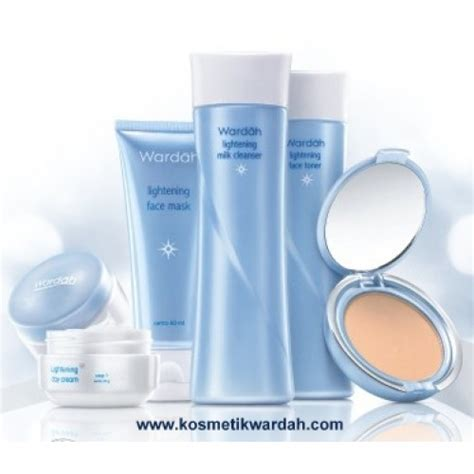 Paket Make Up Wardah wardah inspiring paket wardah lightening series
