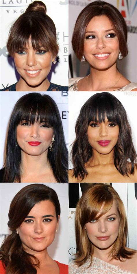 the best and worst bangs for heart shaped faces beauty editor best 25 heart shape face ideas on pinterest heart