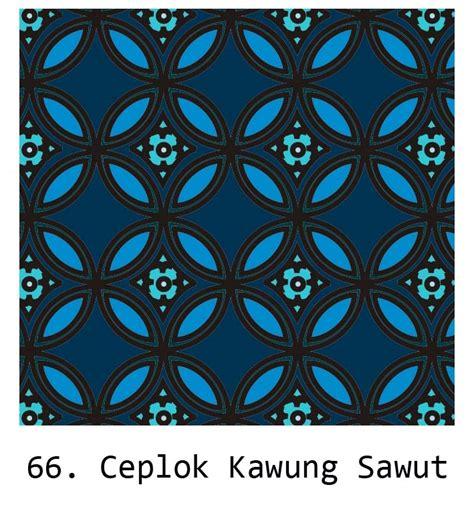 batik ceplok kawung sawut by zenoshiki on deviantart