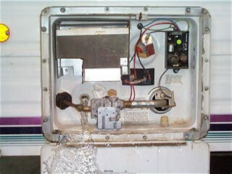 rv hot water system