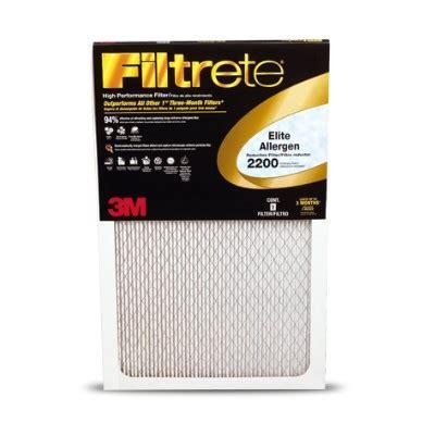 16x25x1 filtrete 2200 merv 13 elite allergen reduction