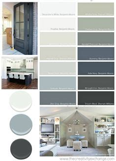 this paint combination of balanced everything s rosy shades on midnight show and peek a blue