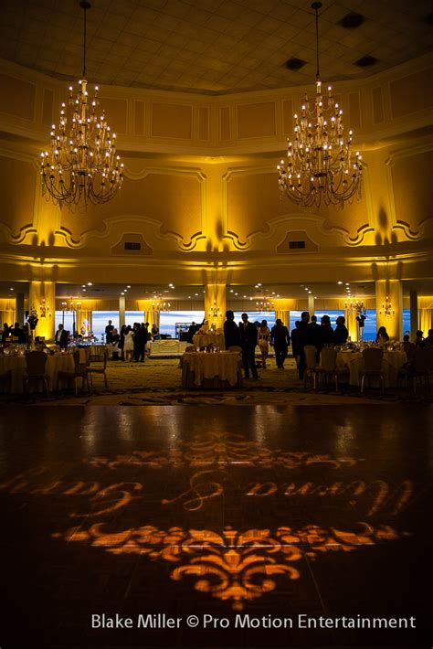 coronado lights gary mirna s hotel cornado wedding lighting san