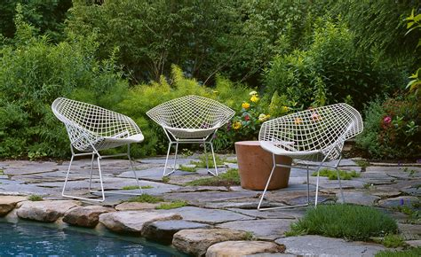 Bertoia Outdoor Chair by Bertoia Small Chair With Seat Cushion Hivemodern