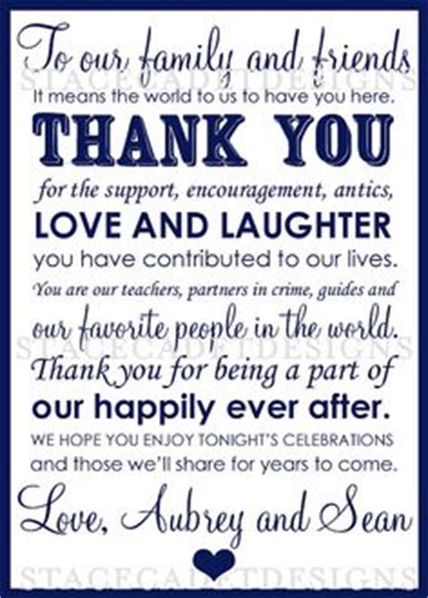 Dinner Thank You Card Template by 1000 Images About Wedding Ideas On Wedding