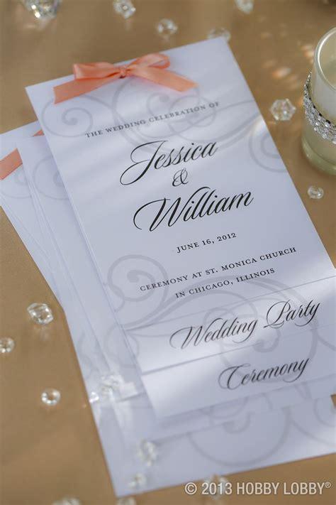 25  best ideas about Hobby lobby wedding invitations on