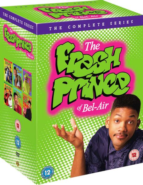 The Prince Of Dvd fresh prince of bel air collection dvd zavvi
