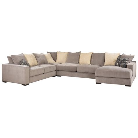 Jonathan Louis Sectional Sofa Jonathan Louis Lombardy Sectional Sofa With Track Arms And Chaise Miskelly Furniture