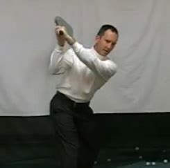 flat left wrist in golf swing flat left wrist at top of backswing golf lesson by