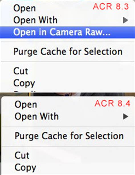 "photoshop/bridge cs6: acr update 8.4 removes ""open in"