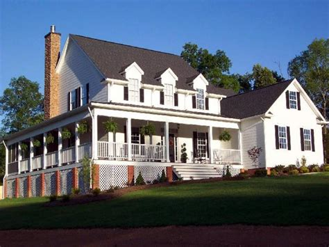 small farmhouse plans wrap around porch types awesome
