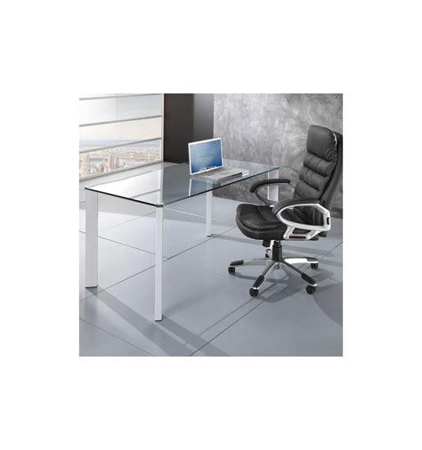 scrivania piano vetro tavolo scrivania roxanne da ufficio piano in vetro 140 x 80 cm