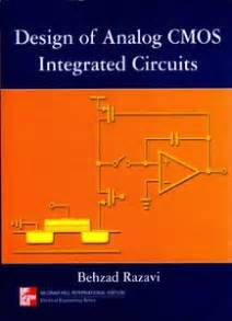 cmos analog integrated circuit design razavi design of analog cmos integrated circuits by behzad razavi repost avaxhome