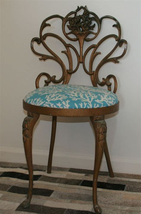 Vanity Chair Aqua 34 Best Images About Upholstery On Vintage