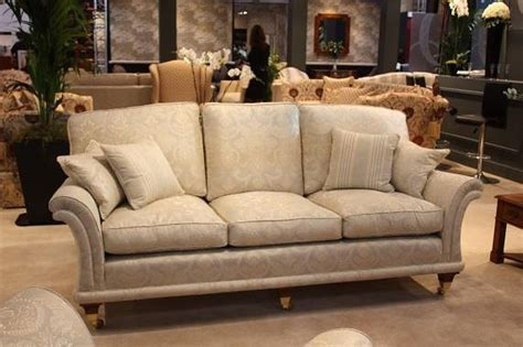 David Gundry Upholstery by Sofa With Wooden Frame And Fabric Upholstery Is