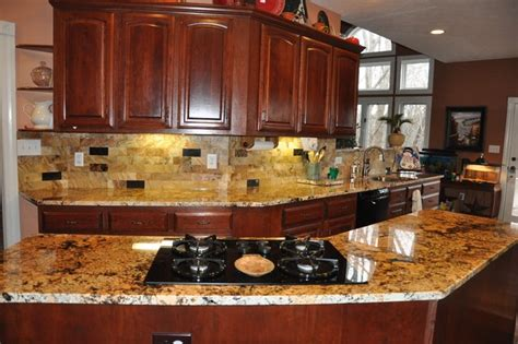 kitchen granite ideas granite countertops and tile backsplash ideas eclectic