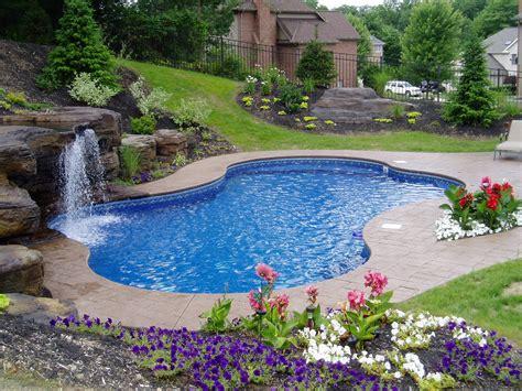 beautiful backyard pools luxury pools luxury pool liners by loop loc home