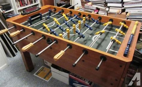 harvard foosball table parts foosball table harvard brand excellent condition l k for