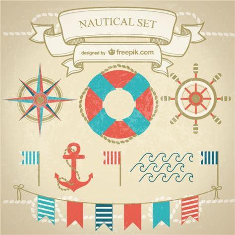 nautical design free vector graphics nautical design vector free