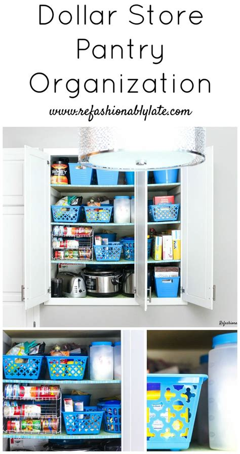 dollar store organization 17 best images about kitchen pantry on pinterest