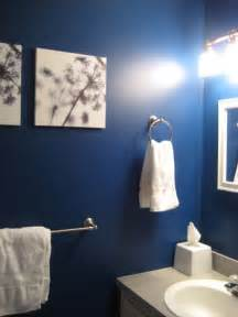 Bathroom Paint Ideas Blue by 6th Street Design Navy Walls
