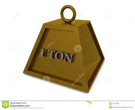 how to insert a ton for the time diagram one ton weight stock illustration illustration of