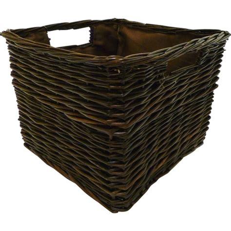 Shelf Baskets Walmart by Canopy Handwoven Bookshelf Storage Basket Walmart