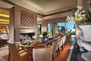 prestigious nuance of elegant dining room which is