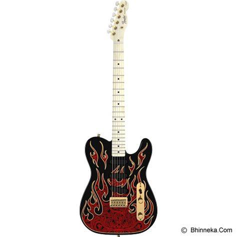 Diskon Gitar Clayton American jual fender gitar elektrik burton telecaster 010 8602 887 paisley flames murah