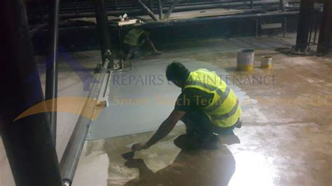 epoxy floor coating painting services in dubai uae concrete garage flooring