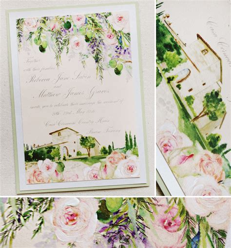 Italy Theme Wedding Invitations by Tuscan Wedding Invitations Wedding Invitation Ideas
