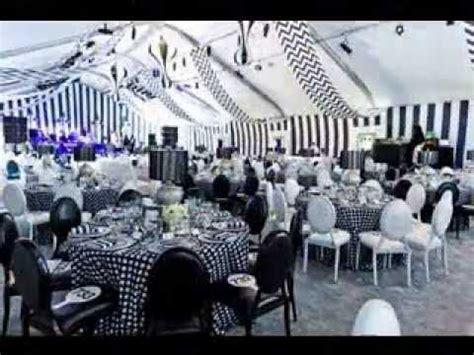 themes for black tie balls black and white party themes ideas youtube