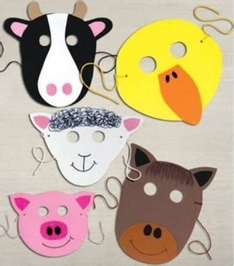 How Do You Make A Mask Out Of Paper - anaokulu hayvan maskeleri 15 hobi fikirleri yarat箟c箟
