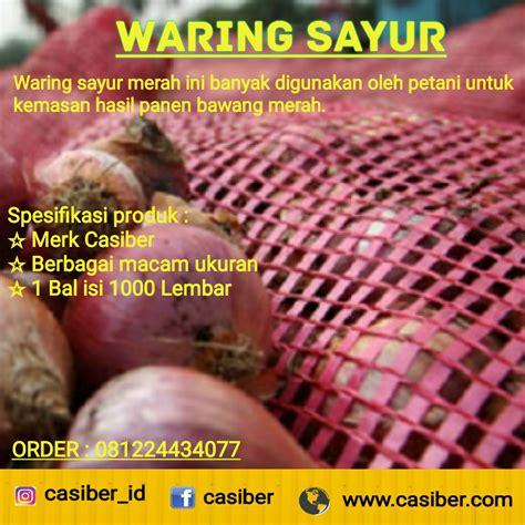 Jaring Waring Hitam Untuk Pagar pabrik waring pagar waring hitam waring sayur waring