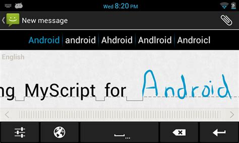 piano keyboards for android myscript stylus gesture based handwriting keyboard for android