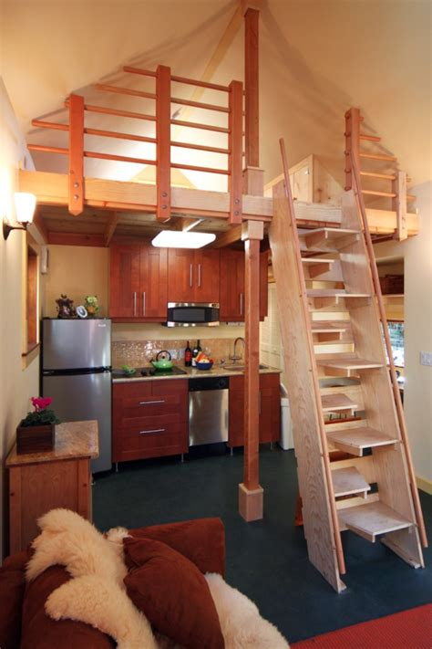 tiny house with loft karen s backyard cottage new avenue homes small house