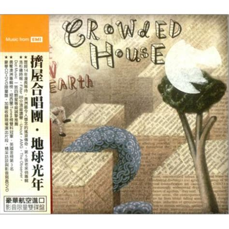 Cd Crowded House Time On Earth Crowded House Time On Earth Taiwanese Cd Dvd Set