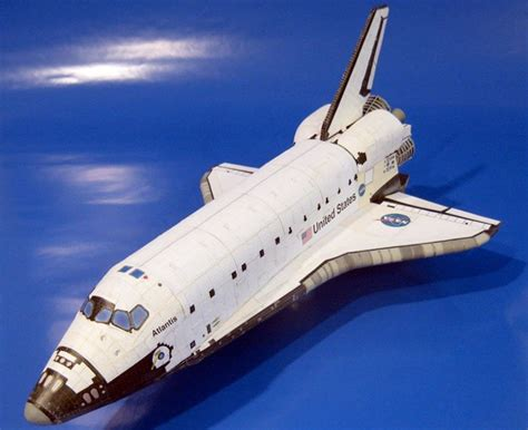 papercraft friday 61 space shuttle zarkseven