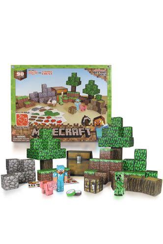 Minecraft Papercraft Deluxe - papercraft minecraft 90 piezas quot deluxe set
