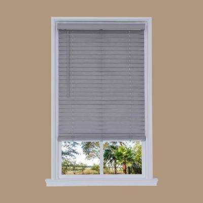 light grey wooden blinds faux wood blinds blinds the home depot