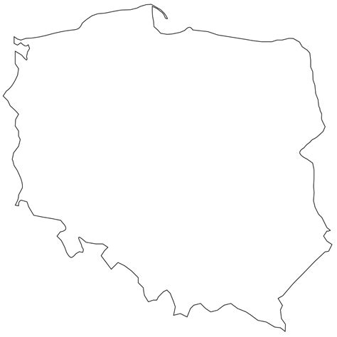 printable country shapes file poland shape svg wikimedia commons