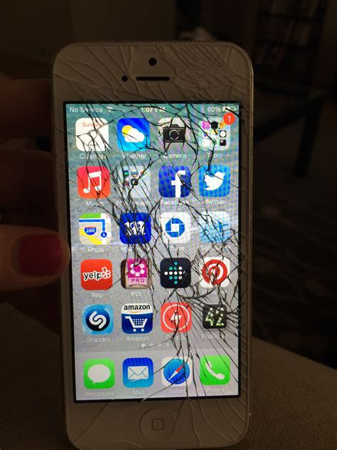 fix cracked iphone screen cost of repairing a cracked iphone 5c or 5s screen