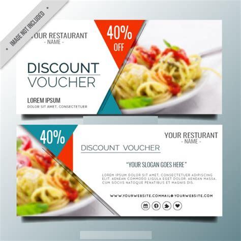 printable vouchers restaurants 7 restaurant voucher templates free psd vector ai eps