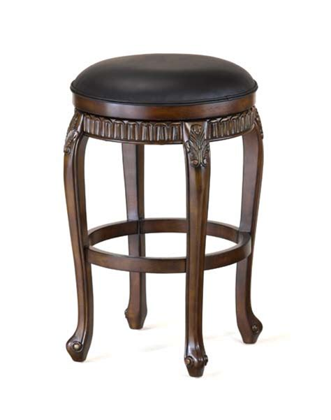 Cherry Backless Counter Stools by Fleur De Lis Swivel Backless Counter Stool Distressed