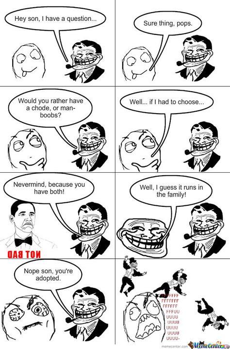 Troll Dad Memes - troll dad strikes again by thechosenone360 meme center